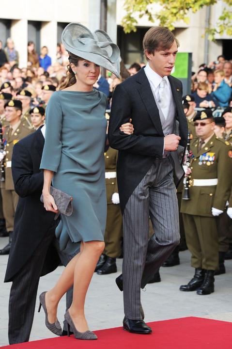 La princesa Tessy y Luis de Luxemburgo