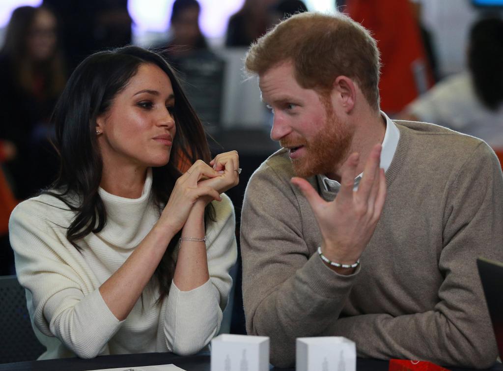 El Principe Enrique de Inglaterra y Meghan Markle