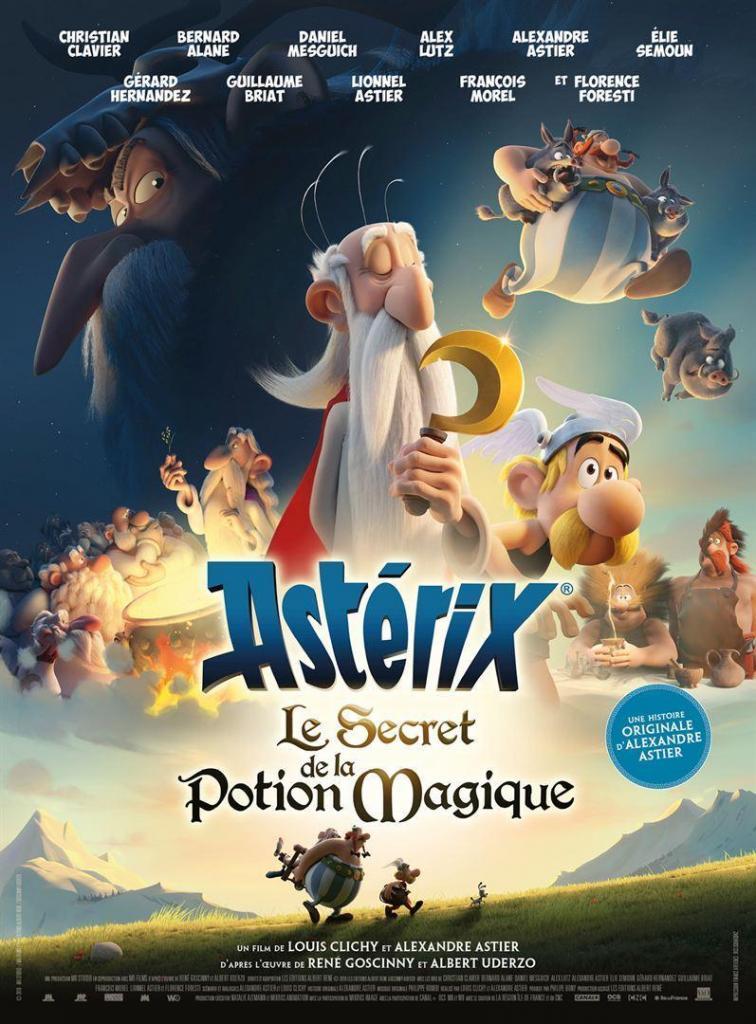 Cartel de la película 'Astérix: el secreto de la poción mágica'