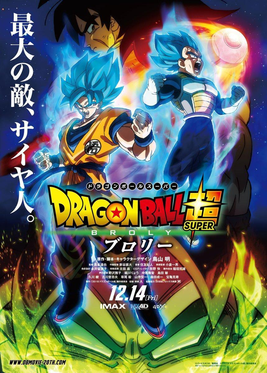Cartel de la película 'Dragon Ball Super: Broly'