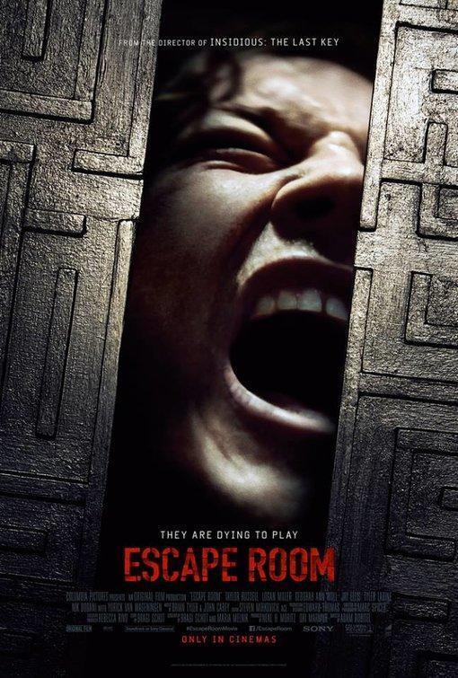 Cartel de la película 'Escape Room'