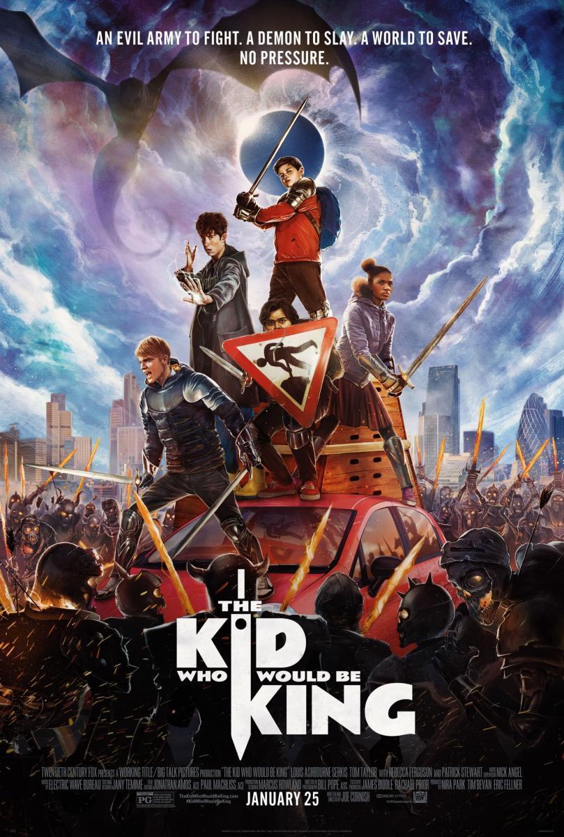 Cartel de la película 'El niño que pudo ser rey'