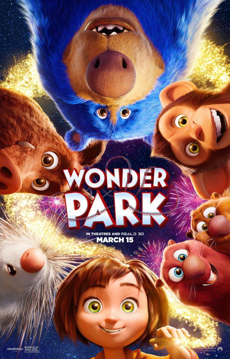 Cartel de la película 'El parque mágico'