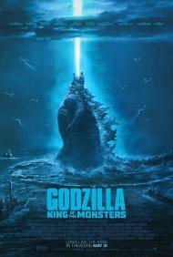 Cartel de la película 'Godzilla: el rey de los monstruos'