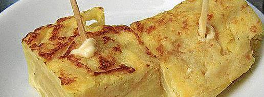 Uno de los clásicos para comer fuera es la tortilla de patata