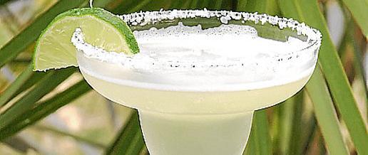 El Margarita, con el borde impregnado en sal