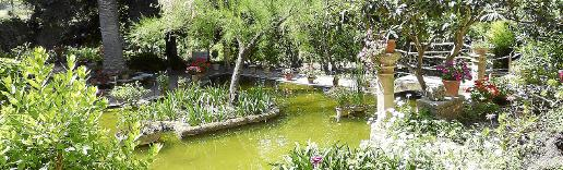 El museo y el jardín de la finca de Son Marroig