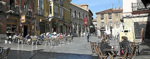 El Barrio Humedo es una zona de intensa actividad de ocio.