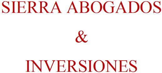 Sierra Abogados & Inversiones