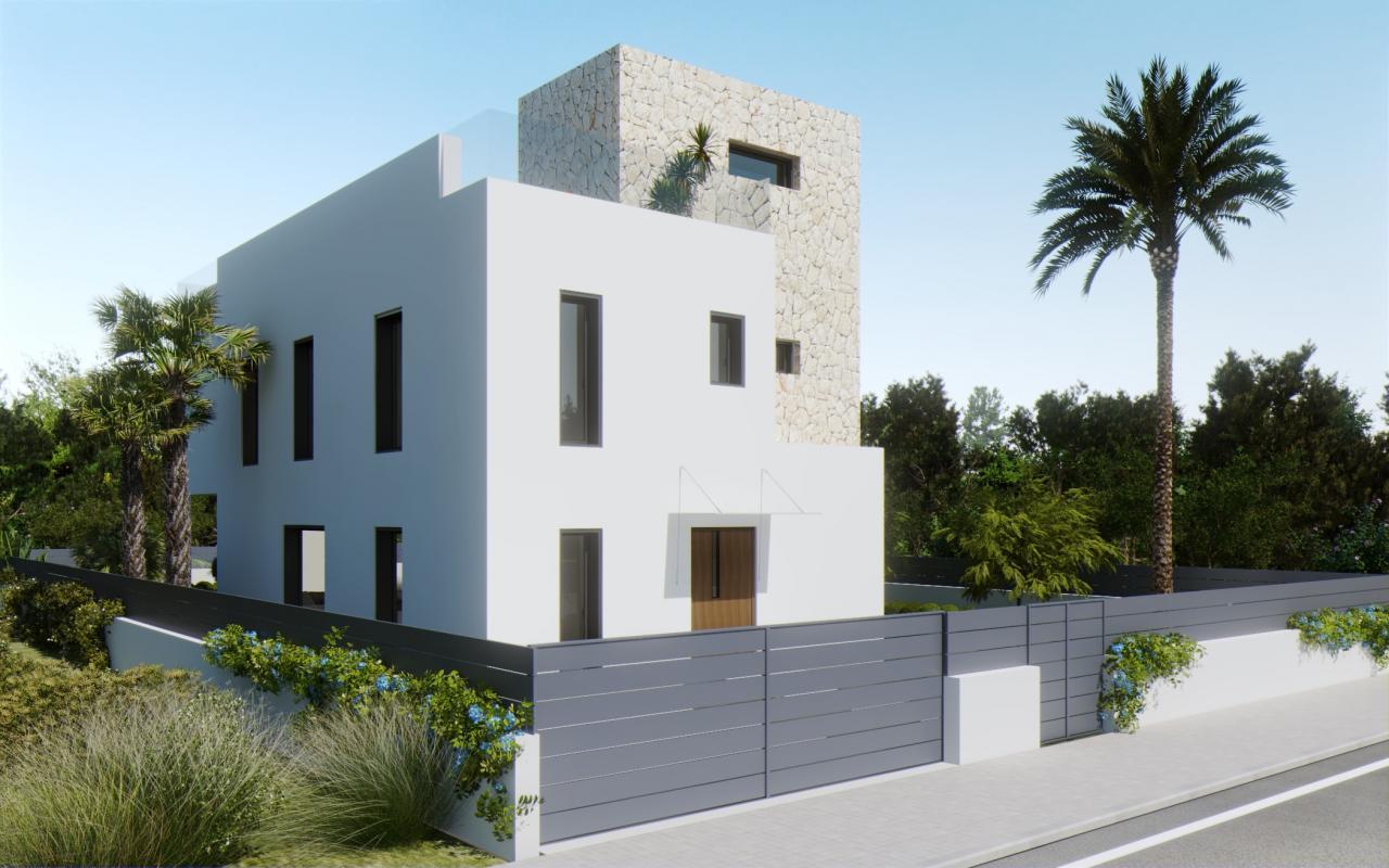Villa en es Trenc - Inmobiliaria Azur Mallorca
