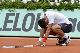 NOVAK DJOKOVIC VS. JO-WILFRIED TSONGA