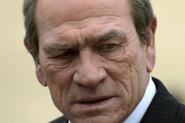 File photo of actor Tommy Lee Jones at the 60th San Sebastian Film Festival