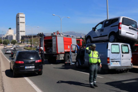 Accidente llamativo