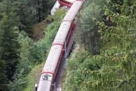 Accidente ferroviario en Suiza