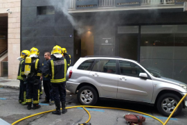 Bomberos ante el Instituto de Medicina Legal