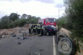 Accidente mortal en la carretera Llucmajor-s'Estanyol