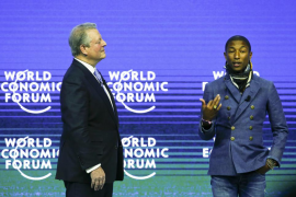 Al Gore y Pharrell Williams