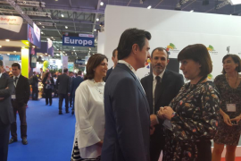 Armengol y Soria en la World Travel Market