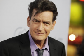 El actor de Hollywood, Charlie Sheen.