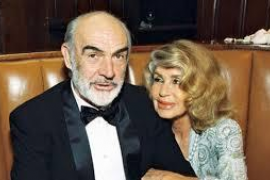 Sean Connery y Micheline Roquebrune