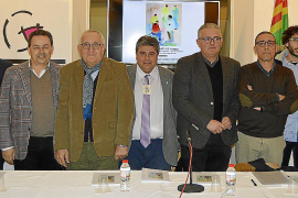 """Cinc homes de poble"" se presenta en Can Planes"