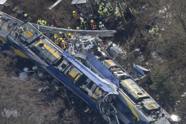 Accidente ferroviario en Alemania