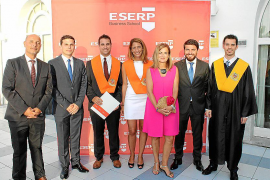 Graduaciones y premios en ESERP Business School