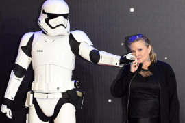 Fallece Carrie Fisher, la princesa Leia en 'Star Wars'