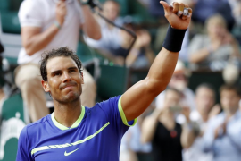 Nadal: «He jugado impecable»