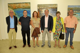 Jorge Azri inaugura Alcúdia Art Center