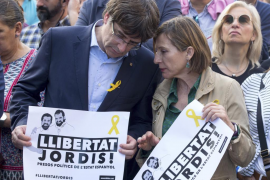 Forcadell: «Rajoy ha anunciado un golpe de estado 'de facto'»