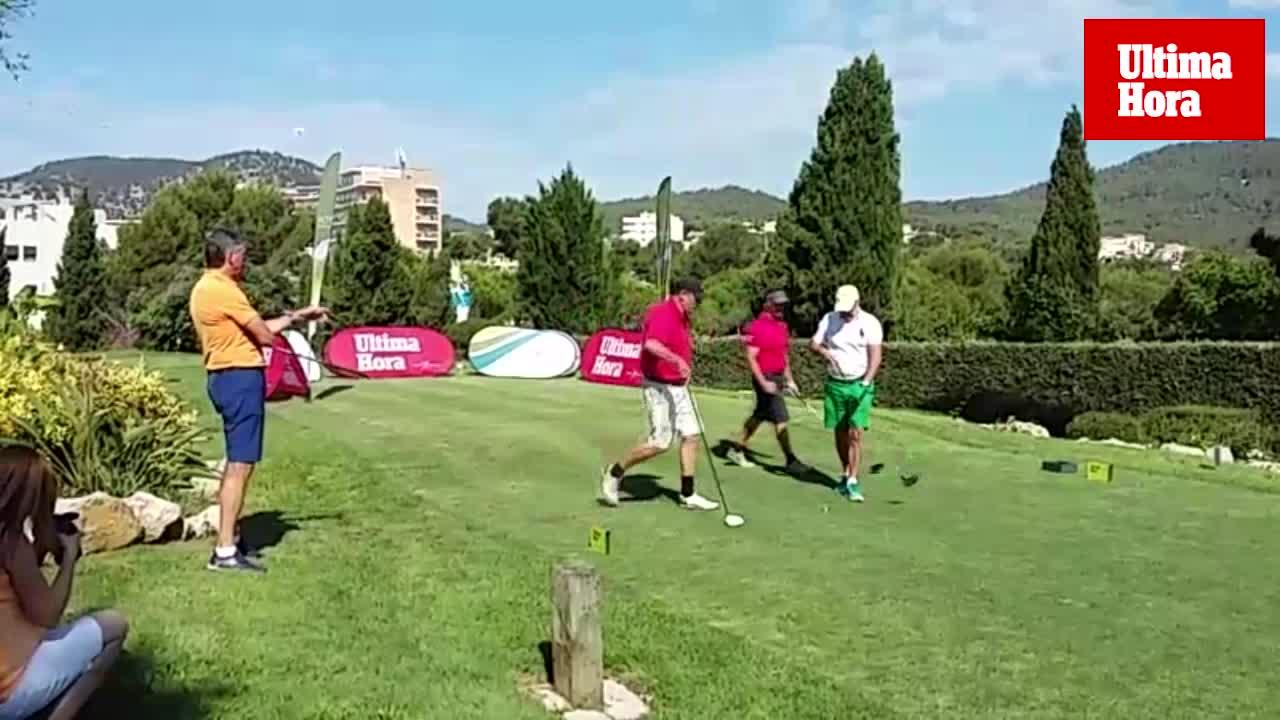 Torneo de golf de altos vuelos