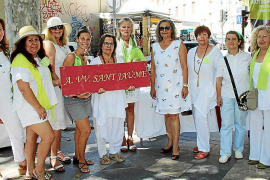 Mercadillo solidario de la AAVV de Sant Jaume a beneficio de DARE Home