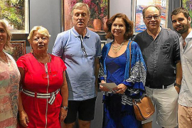 Presencia mallorquina en el Salon d'Art Contemporaine de Cannes