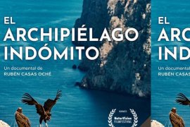 Cartel del documental 'El archipiélago indómito'