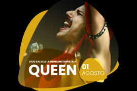 Freddy Mercury (Show God Save The Queen)