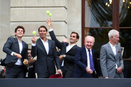Official welcome of Laver Cup teams