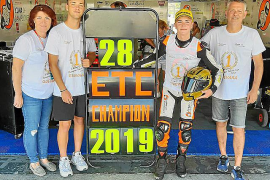 Izan Guevara se confirma en la European Talent Cup