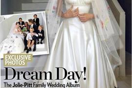 Las imágenes de la boda de Brad Pitt y Angelina Jolie