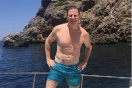 Día de relax en Mallorca para Jorge, de Los Morancos