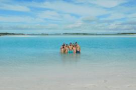 Rafa Nadal, en las Bahamas con familiares y amigos