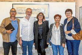 Pilar Cerdà expone su obra en Pollença